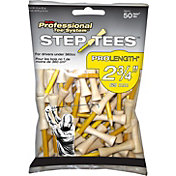 Pride Sports 2.75' Step Golf Tees – 50-Pack