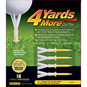 GreenKeepers 2.75' 4 More Yards Golf Tees - 4 Pack