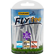 "CHAMP Zarma FLYtee 3.25"" White – 25-Pack"