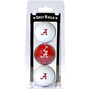 Team Golf Alabama Crimson Tide Golf Balls - 3-Pack