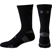 Under Armour HeatGear Athletic Crew Socks 4 Pack