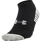 Under Armour HeatGear No Show Athletic Socks 4 Pack