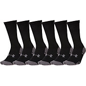 Under Armour Resistor Crew Socks 6 Pack