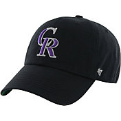 '47 Men's Colorado Rockies Franchise Black Fitted Hat