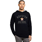 '47 Men's Houston Astros Navy Downfield Long Sleeve Shirt