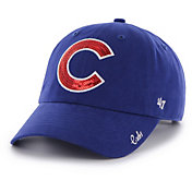'47 Women's Chicago Cubs Sparkle Royal Adjustable Hat