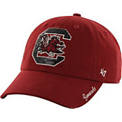 '47 Women's South Carolina Gamecocks Garnet Clean Up Sparkle Adjustable Hat