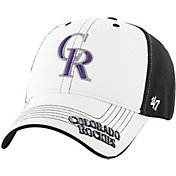 '47 Youth Colorado Rockies Revolution MVP White/Black Adjustable Hat
