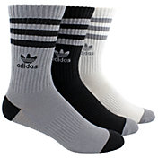 adidas Men's Originals Roller Crew Socks 3 Pack