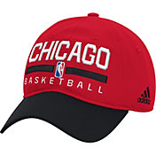 adidas Men's Chicago Bulls Practice Performance Adjustable Hat