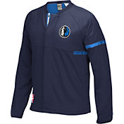 adidas Men's Dallas Mavericks On-Court Navy Jacket