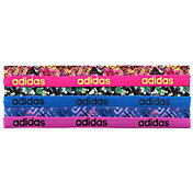 adidas Women's Fighter Graphic Headbands – 6 Pack