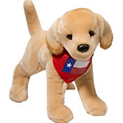 Douglas Texas Yellow Lab Stuffed Animal