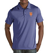 Antigua Men's New York Mets Royal Quest Performance Polo