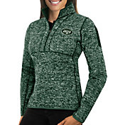 Antigua Women's New York Jets Fortune Green Pullover Jacket