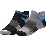 ASICS Men's Quick Lyte Cushion Tab Socks 2 Pack