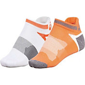 ASICS Women's Quick Lyte Cushion Tab Socks 2 Pack