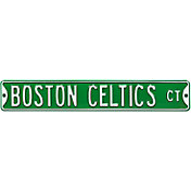 Authentic Street Signs Boston Celtics Court Sign