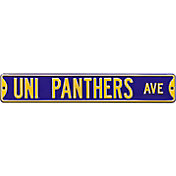 Authentic Street Signs Northern Iowa 'UNI Panthers Ave' Sign