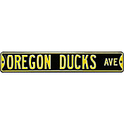 Authentic Street Signs Oregon Ducks Avenue Black Sign