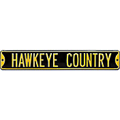 Authentic Street Signs Iowa Hawkeyes 'Hawkeye Country' Street Sign