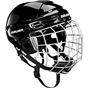 Bauer 2100 Senior/Junior Ice Hockey Helmet Combo