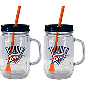 Boelter Oklahoma City Thunder 20oz Handled Straw Tumbler 2-Pack