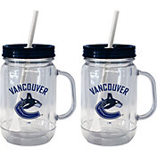Boelter Vancouver Canucks 20oz Handled Straw Tumbler 2-Pack