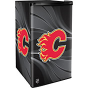 Boelter Calgary Flames Counter Top Height Refrigerator