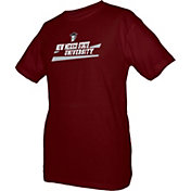 boxercraft Men's New Mexico State Aggies Crimson Just for You Crew Wordmark and Logo T-Shirt