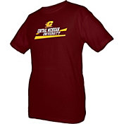 boxercraft Youth Central Michigan Chippewas Maroon Just for You Crew Wordmark and Logo T-Shirt