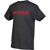 boxercraft Youth Houston Cougars Grey Just for You Crew Wordmark and Logo T-Shirt