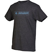 boxercraft Youth Johns Hopkins Blue Jays Grey Just for You Crew Wordmark and Logo T-Shirt