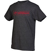 boxercraft Youth Liberty Flames Grey Just for You Crew Wordmark and Logo T-Shirt
