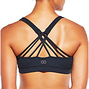 CALIA by Carrie Underwood Women's Inner Power Strappy Low Neck Sports Bra