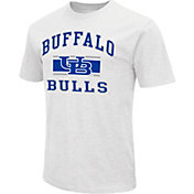 Colosseum Athletics Men's Buffalo Bulls White Dual Blend T-Shirt