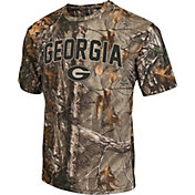 Colosseum Athletics Men's Georgia Bulldogs Camo Brow Tine T-Shirt