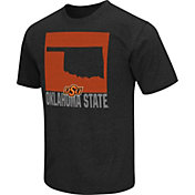 Colosseum Athletics Men's Oklahoma State Cowboys Black State of the Union T-Shirt