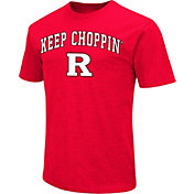 Colosseum Athletics Men's Rutgers Scarlet Knights Scarlet Team Slogan T-Shirt