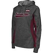 Colosseum Athletics Women's Mississippi State Bulldogs Grey Performance Hoodie