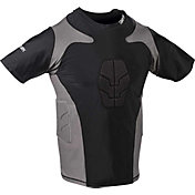 Century Adult Padded Short Sleeve Compression Shirt