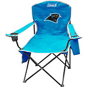 Coleman Carolina Panthers XL Quad Chair With Cooler