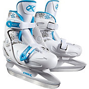 DBX Girls' Adjustable Skates Package