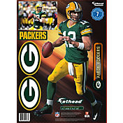 Fathead Green Bay Packers Aaron Rodgers Teammate Player Wall Decal