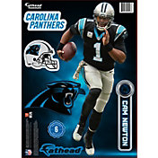 Fathead Carolina Panthers Cam Newton Teammate Player Wall Decal