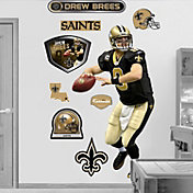 Fathead Drew Brees Wall Graphic