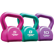 Fitness Gear 23 lb PVC Kettlebell Set