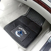 FANMATS Vancouver Canucks Two Piece Heavy Duty Vinyl Car Mat Set
