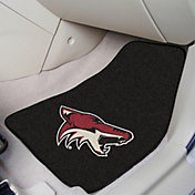 Arizona Coyotes Two Piece Printed Carpet Car Mat Set