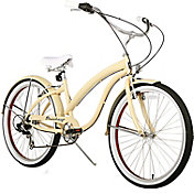 Firmstrong Women's Bella Fashionista Seven Speed Beach Cruiser Bike